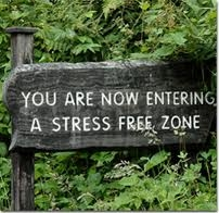 entering a stress free zone